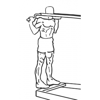 Standing Calf Raises - Step 1
