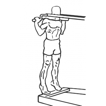 Standing Calf Raises - Step 2