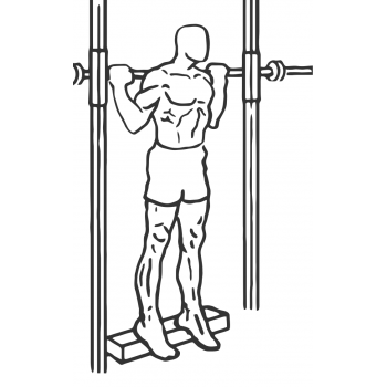 Smith Machine Reverse Calf Raises - Step 1