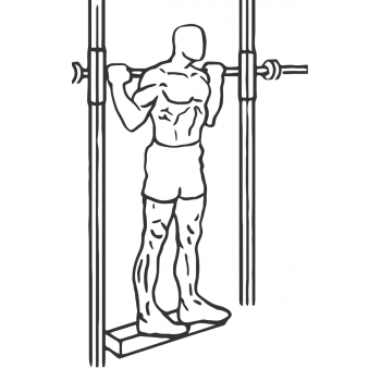 Smith Machine Reverse Calf Raises - Step 2