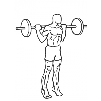Rocking Standing Calf Raise - Step 2