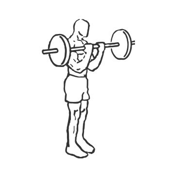 Bicep Curl with Deadlift - Step 2