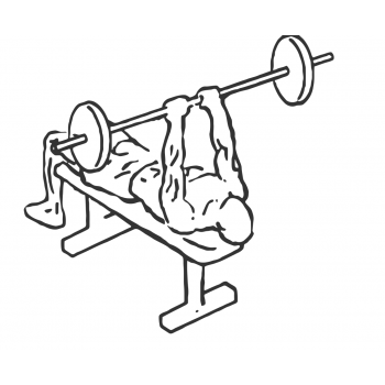 Lying Triceps Press - Step 2