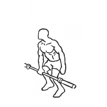 One-Arm Barbell Snatch - Step 1