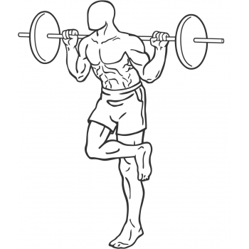 Single Leg Squat - Step 1