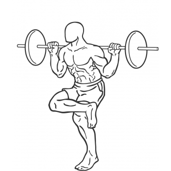 Single Leg Squat - Step 2