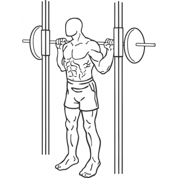 Smith Machine Squat - Step 1