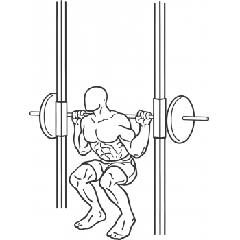 Smith Machine Squat - Step 2