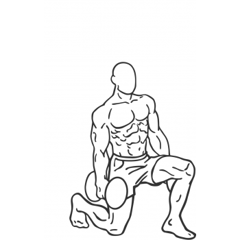 Dumbbell Lunges - Step 2