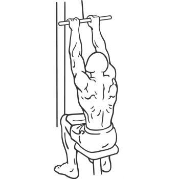 Close-Grip Front Lat Pulldown - Step 2