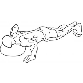 One Armed Biased Push Up - Step 2