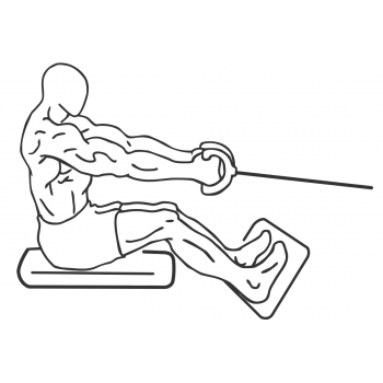 Seated Cable Rows - Step 2