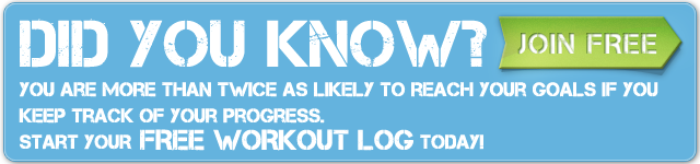 FreeWorkoutLog - Join Free